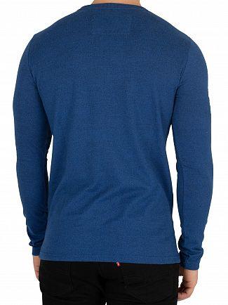Superdry Peppered Blue Grit  Trophy Longsleeved T-Shirt