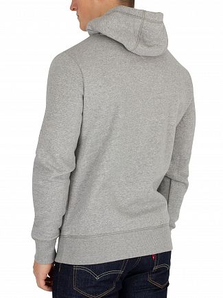Tommy Hilfiger Cloud Heather Graphic Pullover Hoodie