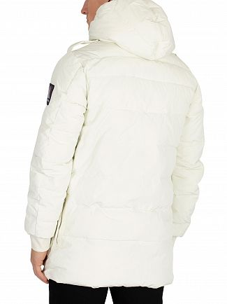 Scotch & Soda Powder Snow Long Hooded Down Jacket