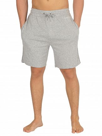 Calvin Klein Grey Heather Sleep Shorts