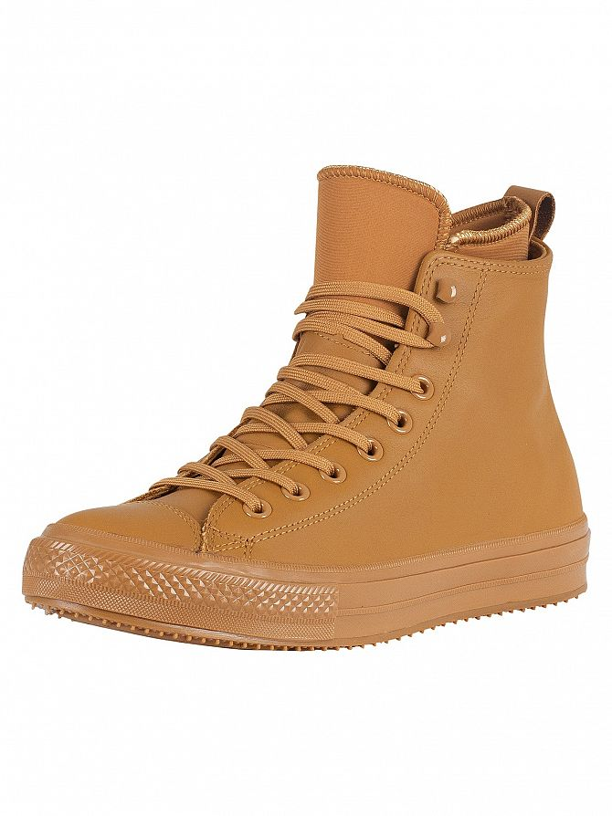 Converse Burnt Caramel CT All Star Hi WP Leather Boots
