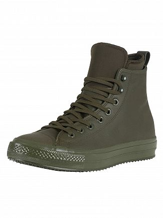Converse Utility Green CT All Star Hi WP Leather Boots