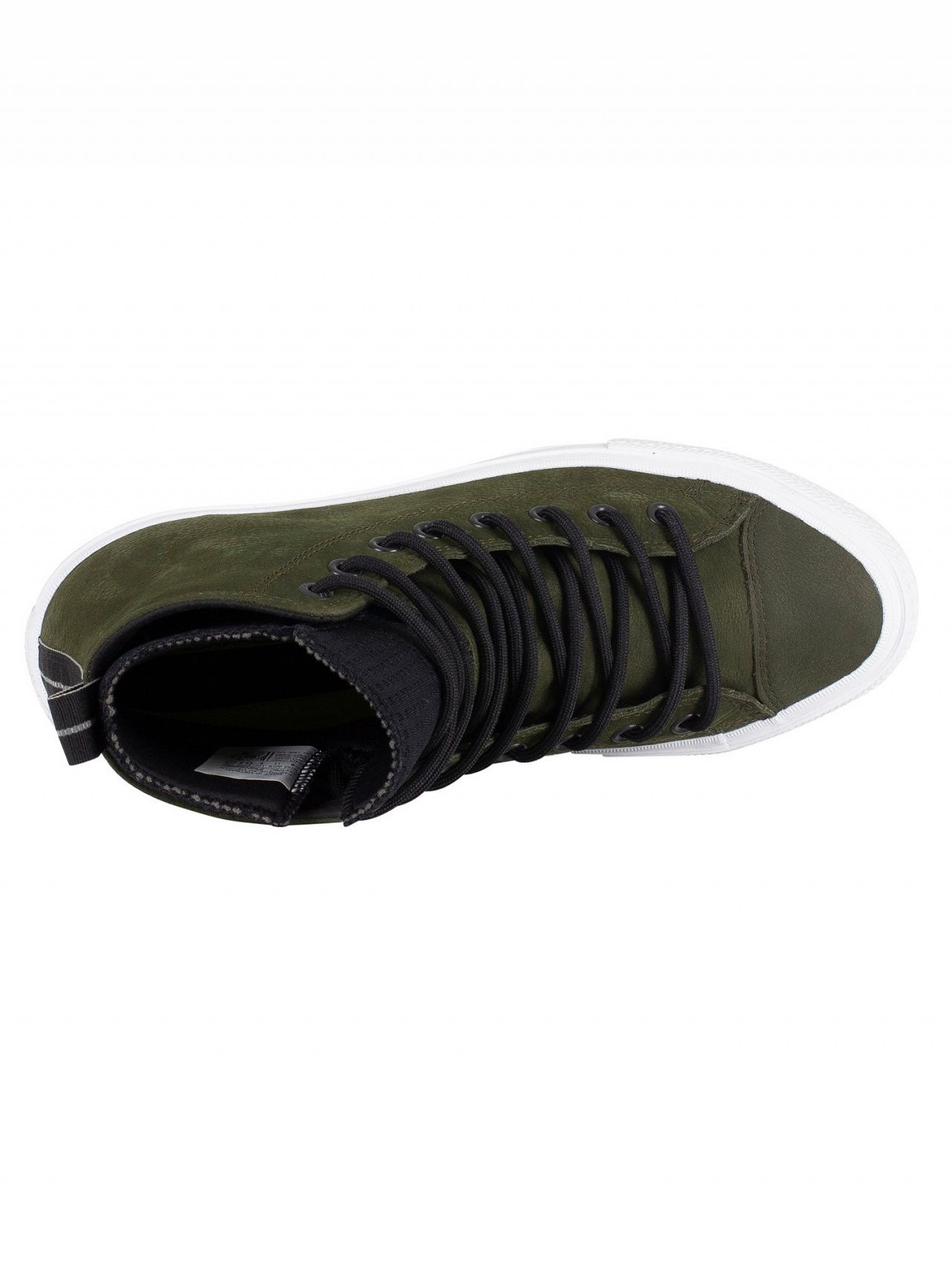 a79191f75bd4 Converse Utility Green Black White CT All Star Hi WP Leather Boots ...