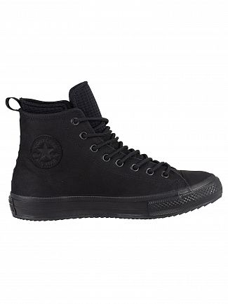 Converse Black/Black CT All Star Hi WP Leather Boots