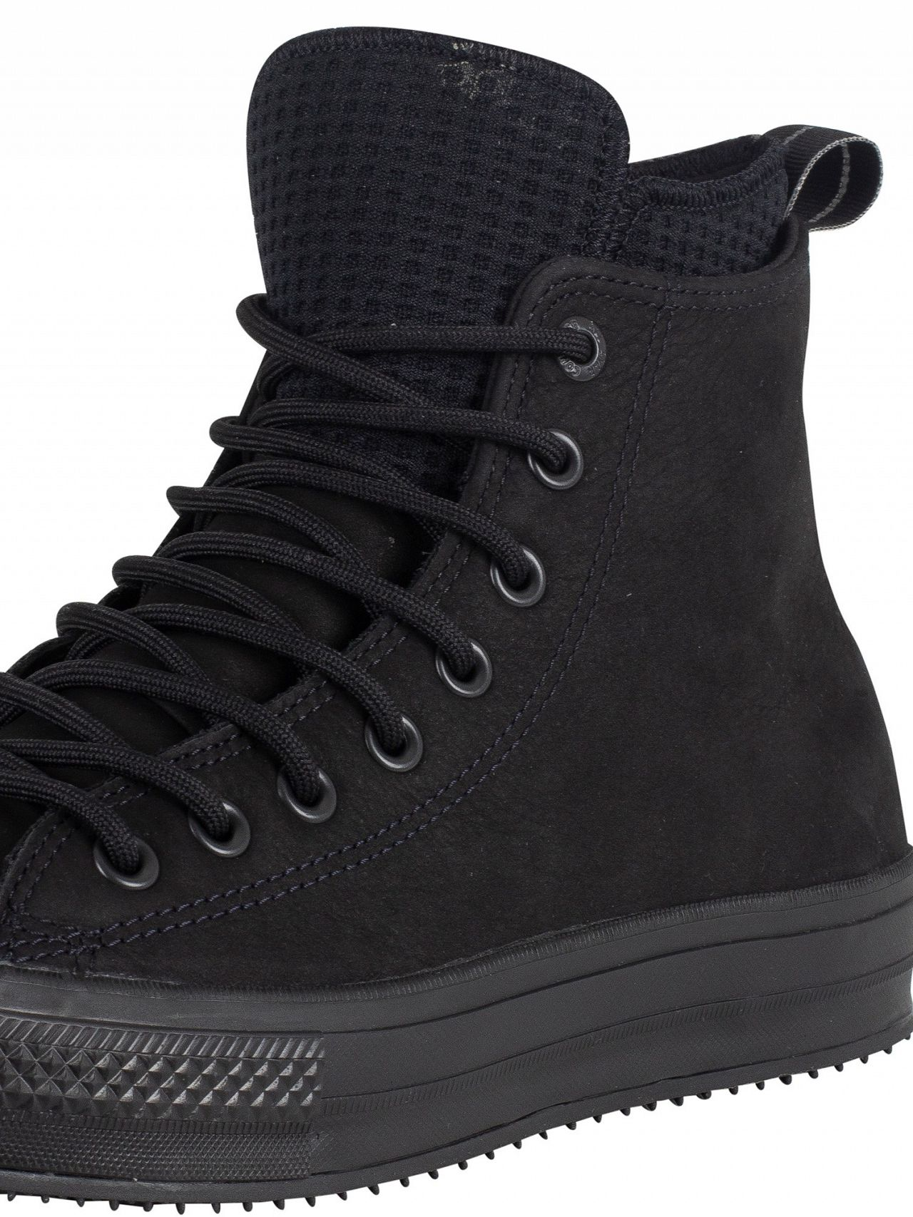 8b05c5a003c4 Converse Black Black CT All Star Hi WP Leather Boots
