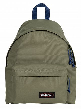 Eastpak Khaki/Blue Padded Pak'R Backpack