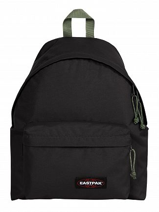 Eastpak Black/Moss Padded Pak'R Backpack