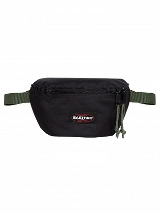 Eastpak Black/Moss Springer Hip Bag
