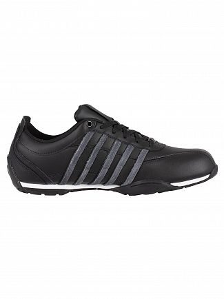 K-Swiss Black Arvee 1.5 Leather Trainers