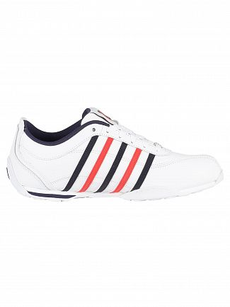 K-Swiss White Arvee 1.5 Leather Trainers