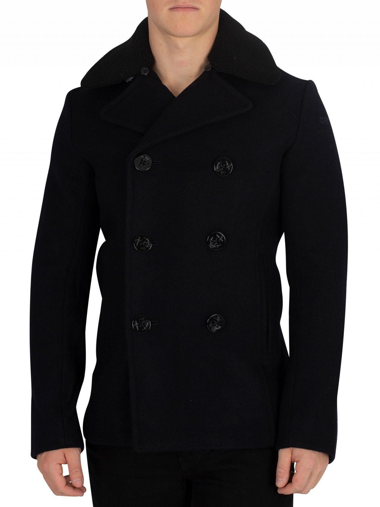 2fdb1daa7ca Schott navy cyclone pea coat standout jpg 1280x1707 Navy pea coat schott