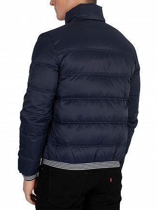 Sergio Tacchini Navy/White Slice Puffa Jacket