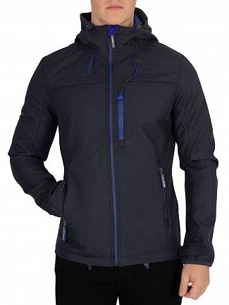 Superdry Moody Blue Marl/Flash Cobalt Windtrekker Jacket
