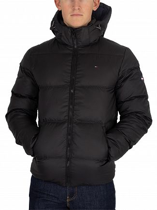 Tommy Jeans Black Essential Down Jacket