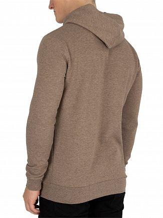 11 Degrees Praline Marl Core Pullover Hoodie