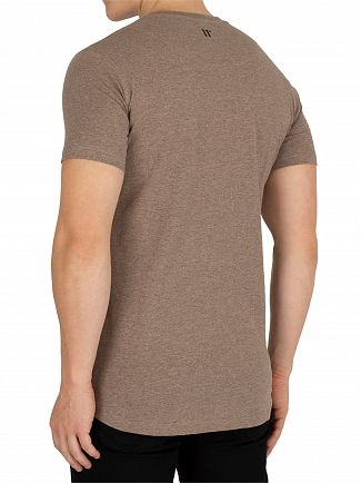 11 Degrees Praline Marl Core T-Shirt