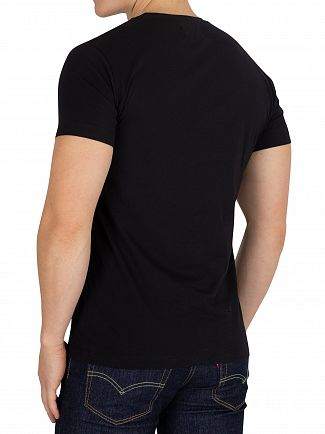 Calvin Klein Jeans Black Monogram Box T-Shirt