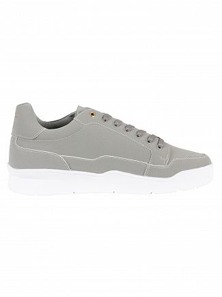 Sik Silk Grey Pursuit Suede Trainers