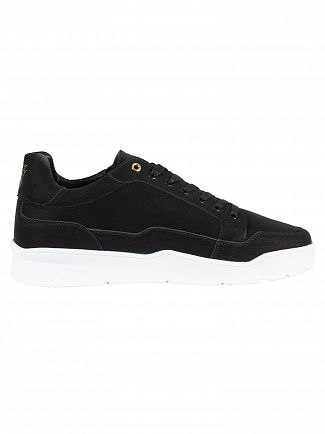 Sik Silk Black Pursuit Suede Trainers