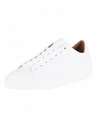Sik Silk White Rafael Leather Trainers