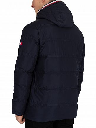 Tommy Hilfiger Sky Captain Down Hooded Bomber Jacket