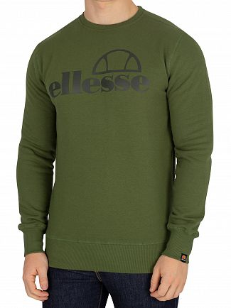 Ellesse Green Fabenne Sweatshirt