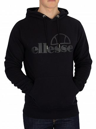 Ellesse Anthracite Gianel Pullover Hoodie