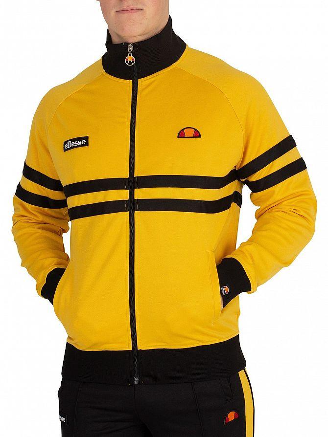 Ellesse Yellow Rimini Track Jacket
