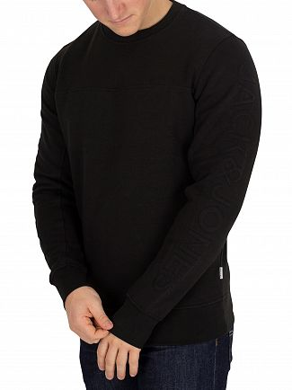 Jack & Jones Black Cole Sweatshirt