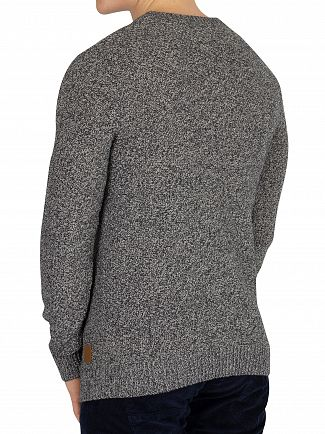 Jack & Jones Light Grey Melange Dale Knit