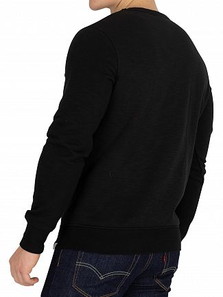 Jack & Jones Black Stan Sweatshirt