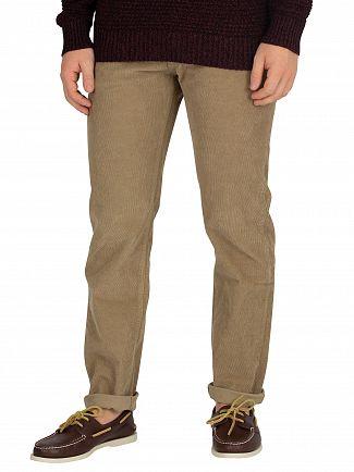 Lois Jeans Dark Sand Sierra Thin Corduroy Trousers