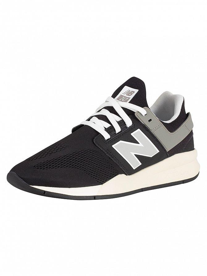 New Balance Black 247 Trainers
