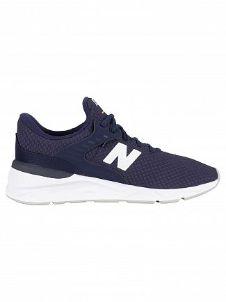 New Balance Navy Blue X-90 Trainers