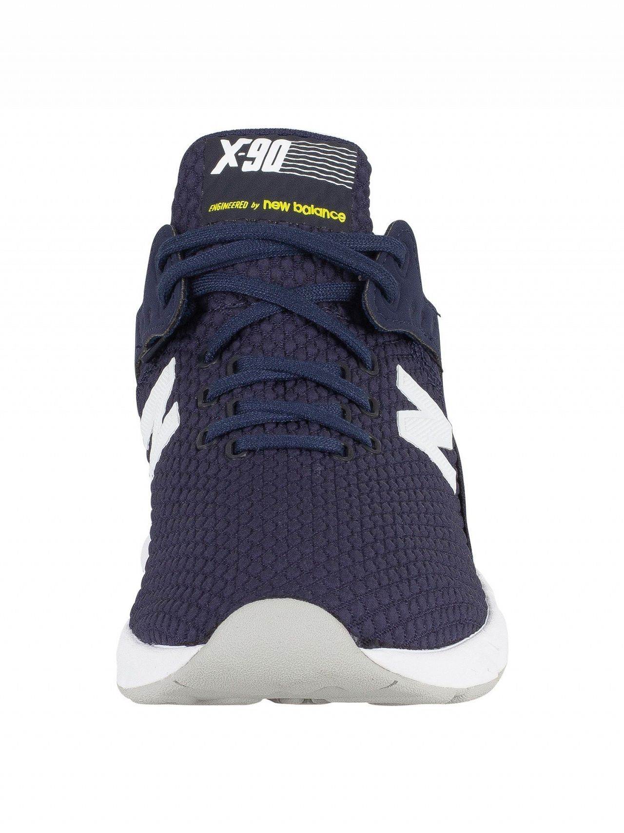 hot sale online a5759 ab34a New Balance Navy Blue X-90 Trainers