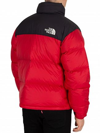 The North Face Red 1996 Retro Nuptse Down Jacket