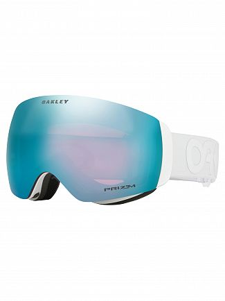 Oakley Factory Pilot Whiteout Flight Deck XM Prizm Snow Goggles