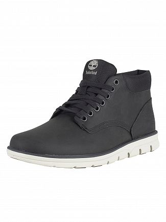 Timberland Dark Grey Full Grain Bradstreet Chukka Leather Boots