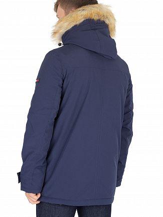 Tommy Jeans Black Iris Technical Parka Jacket