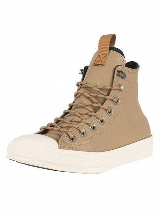 Converse Teak/Black/Driftwood CT All Star Hi Leather Trainers