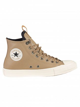 Converse Teak/Black/Driftwood CT All Star Hi Leather Trainers