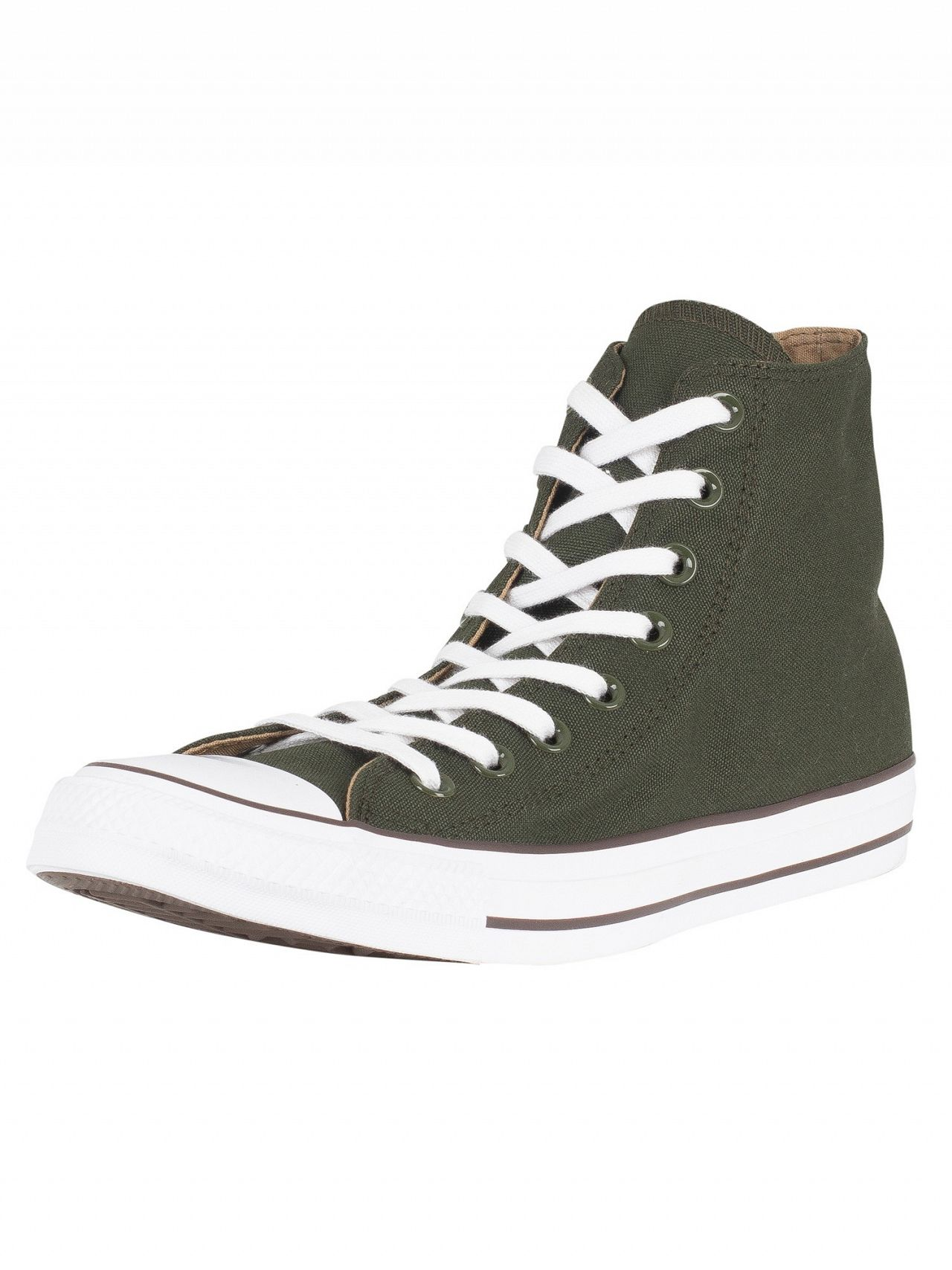 Converse Utility Green Teak White CT All Star Hi Trainers  a59181ab5