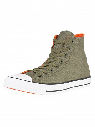 Converse Field Surplus/Bold Mandarin CT All Star Hi Trainers