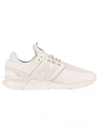 New Balance White 247 Version 2.0 Trainers