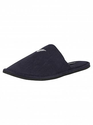 Emporio Armani Marine Knitted Slippers