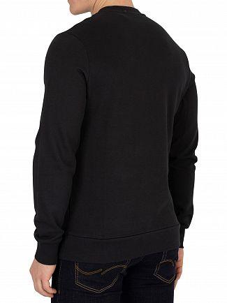Jack & Jones Tap Shoe Black Kritter Xmas Sweatshirt