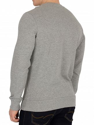 Jack & Jones Light Grey Melange Kritter Xmas Sweatshirt