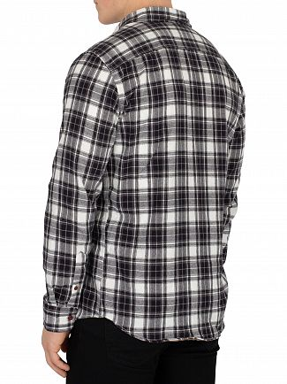 Jack & Jones Tap Shoe Black Steven Pocket Slim Fit Shirt