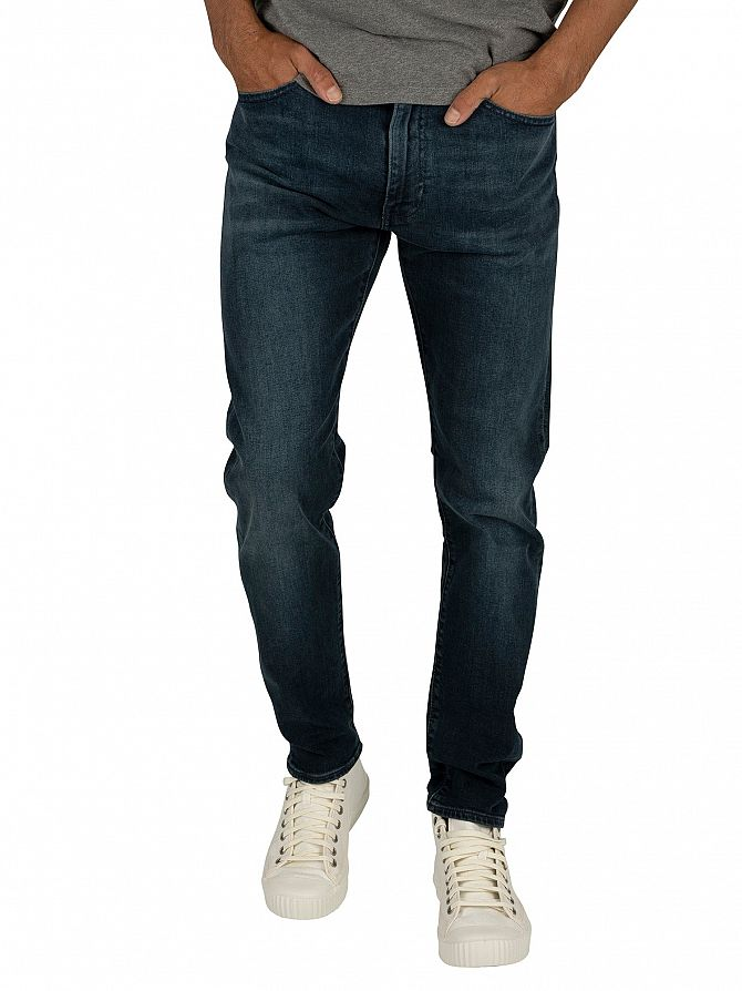 Levi's Dark Blue 512 Slim Taper Jeans