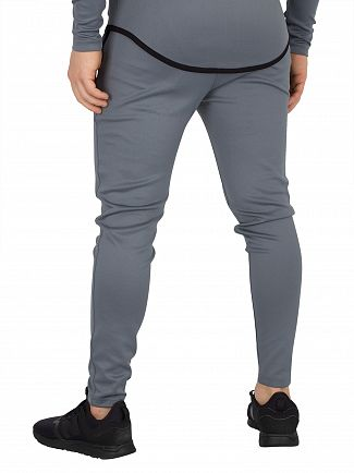 Sik Silk Aqua Grey Athlete Track Joggers